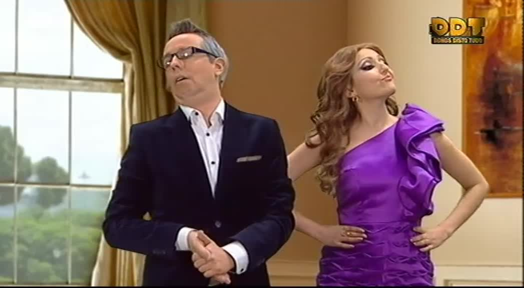 Manuel Marques and Joana Pais de Brito in Donos Disto Tudo (2015)