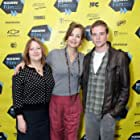 Margaret Colin, Jen McGowan, and Jonny Weston at an event for Kelly & Cal (2014)