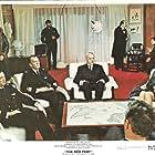 Sean Connery, Claudia Cardinale, and Hardy Krüger in Krasnaya palatka (1969)