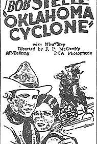 Rita Rey and Bob Steele in The Oklahoma Cyclone (1930)