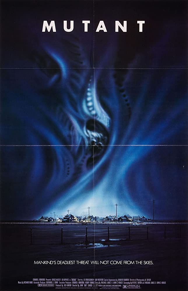 Bo Hopkins, Wings Hauser, and Jody Medford in Night Shadows (1984)
