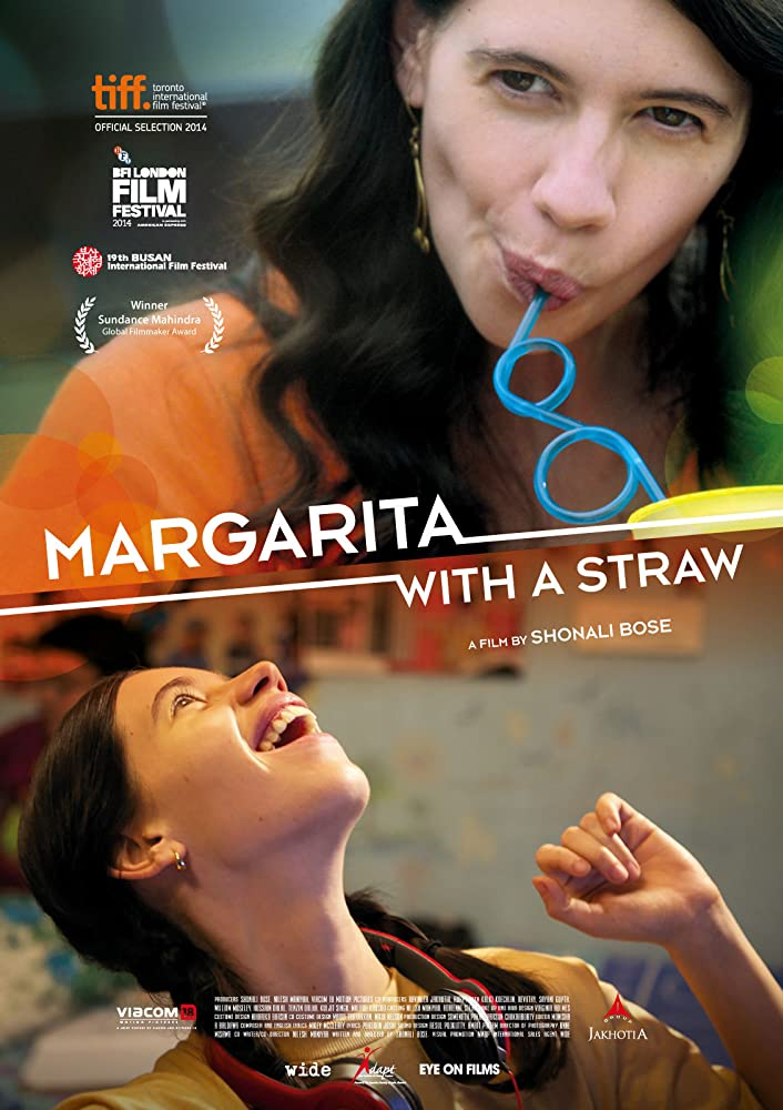 Image result for Margarita With A Straw(2014)