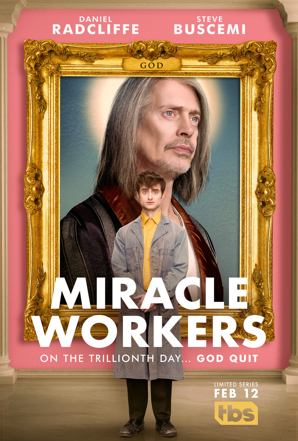 MIRACLE WORKERS (1 Sezonas)