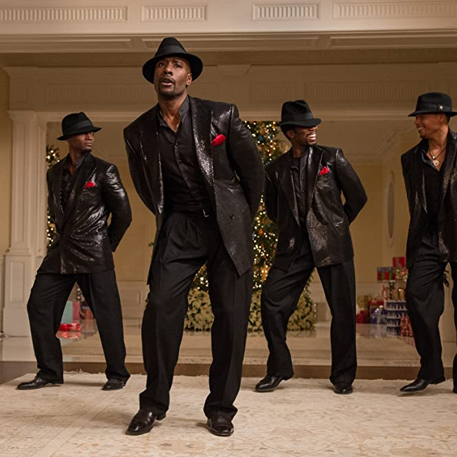 Morris Chestnut, Taye Diggs, Terrence Howard, and Harold Perrineau in The Best Man Holiday (2013)