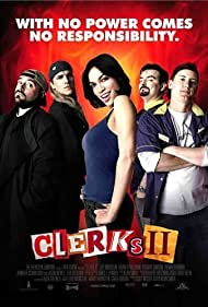 Kevin Smith, Jeff Anderson, Rosario Dawson, Jason Mewes, and Brian O'Halloran in Clerks II (2006)