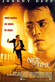 Johnny Depp in Nick of Time (1995)