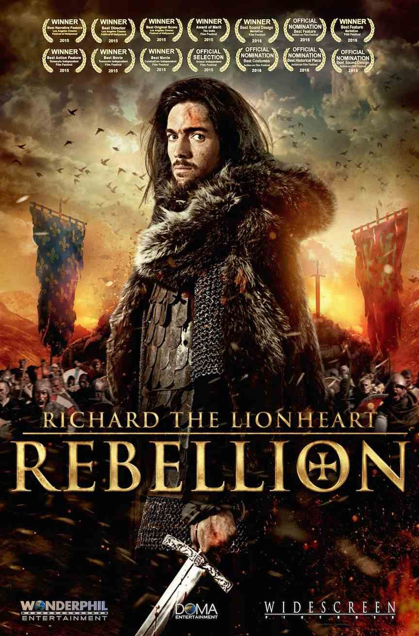 Richard the Lionheart: Rebellion (2015) Hindi Dubbed