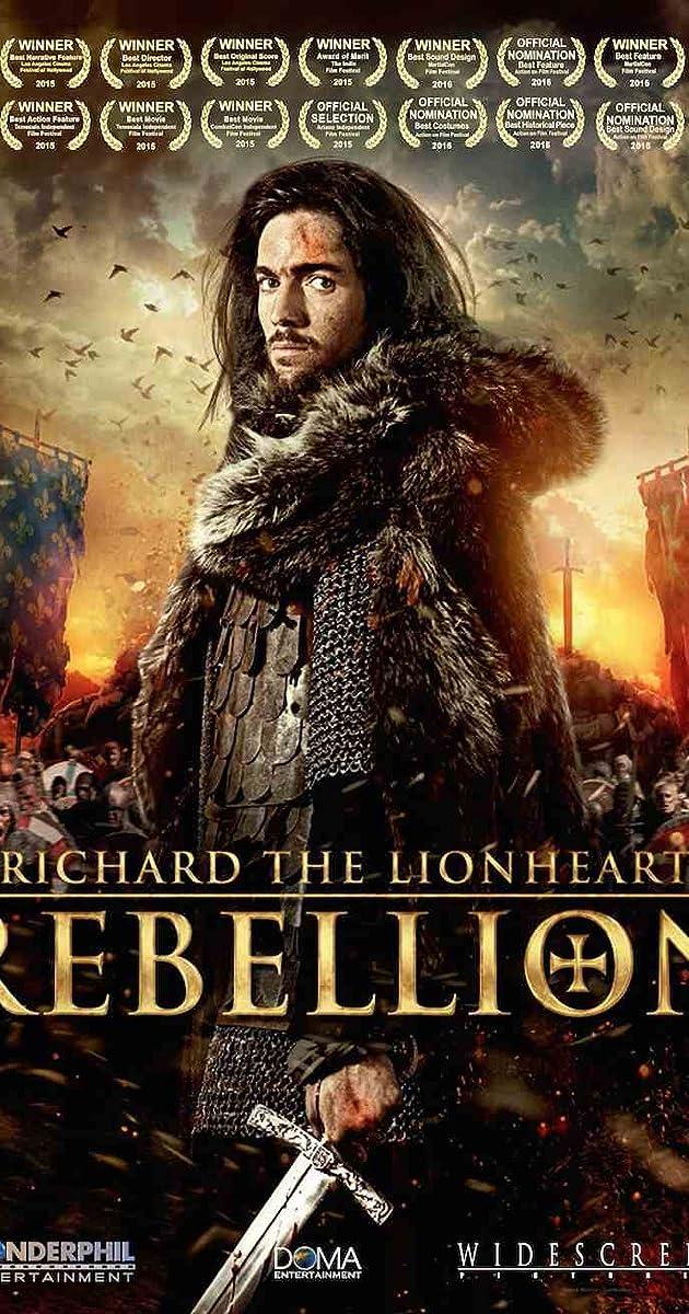 Subtitle of Richard the Lionheart: Rebellion