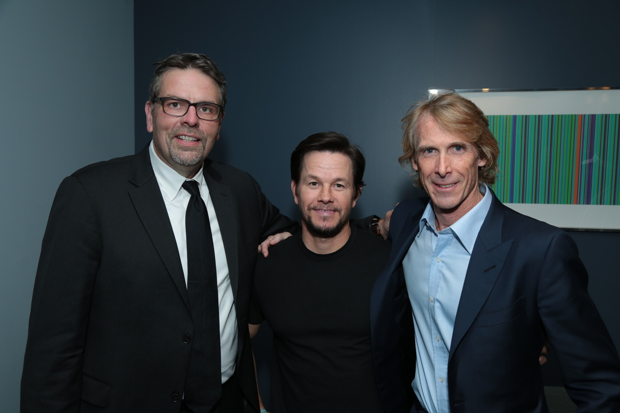 Mark Wahlberg, Michael Bay, Marc Evans, and Marc Evans