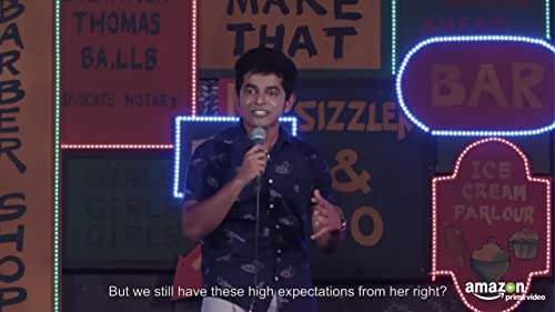 Naveen Richard combines his slice of life comedy along with his iconic facial expressions and striking character work that his audiences have grown to love.