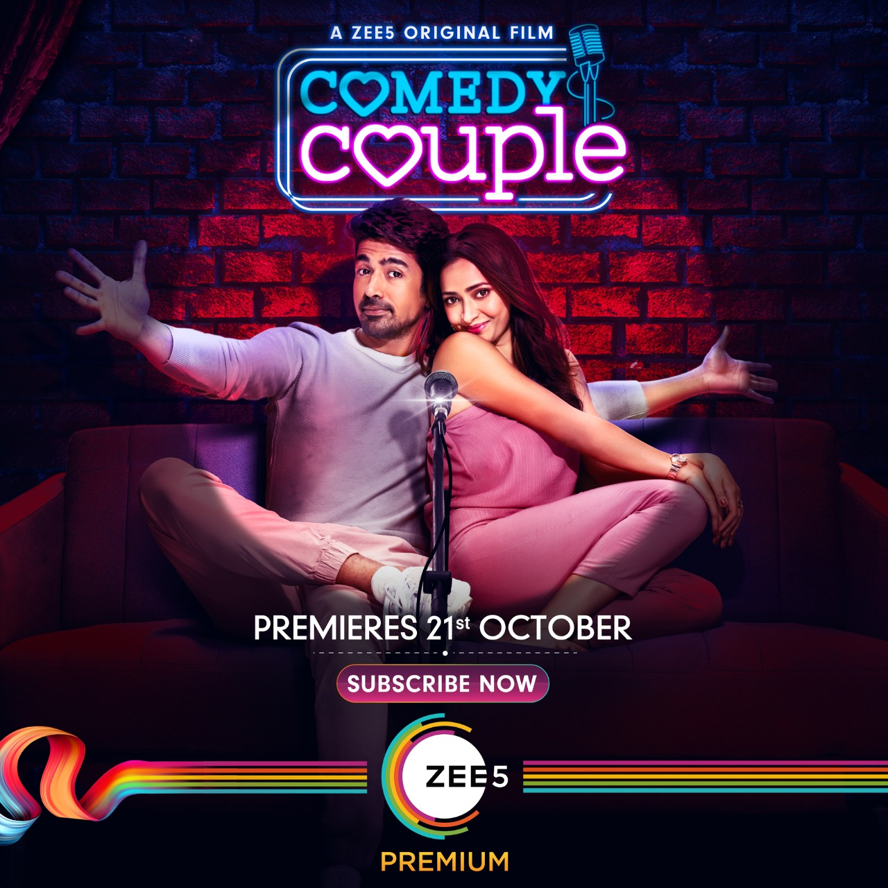 Comedy Couple 2020 Hindi 362MB ZEE5 HDRip Download