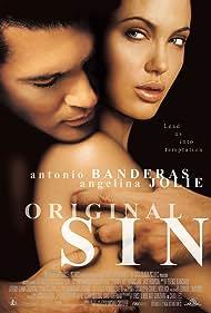 Antonio Banderas and Angelina Jolie in Original Sin (2001)