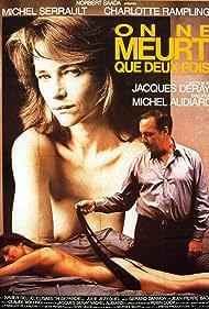 Charlotte Rampling and Michel Serrault in On ne meurt que deux fois (1985)