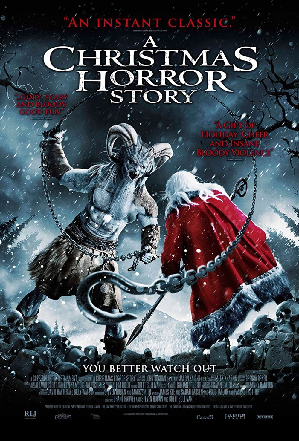 Amc Horror Christmas Trailer 2021 A Christmas Horror Story 2015 Imdb