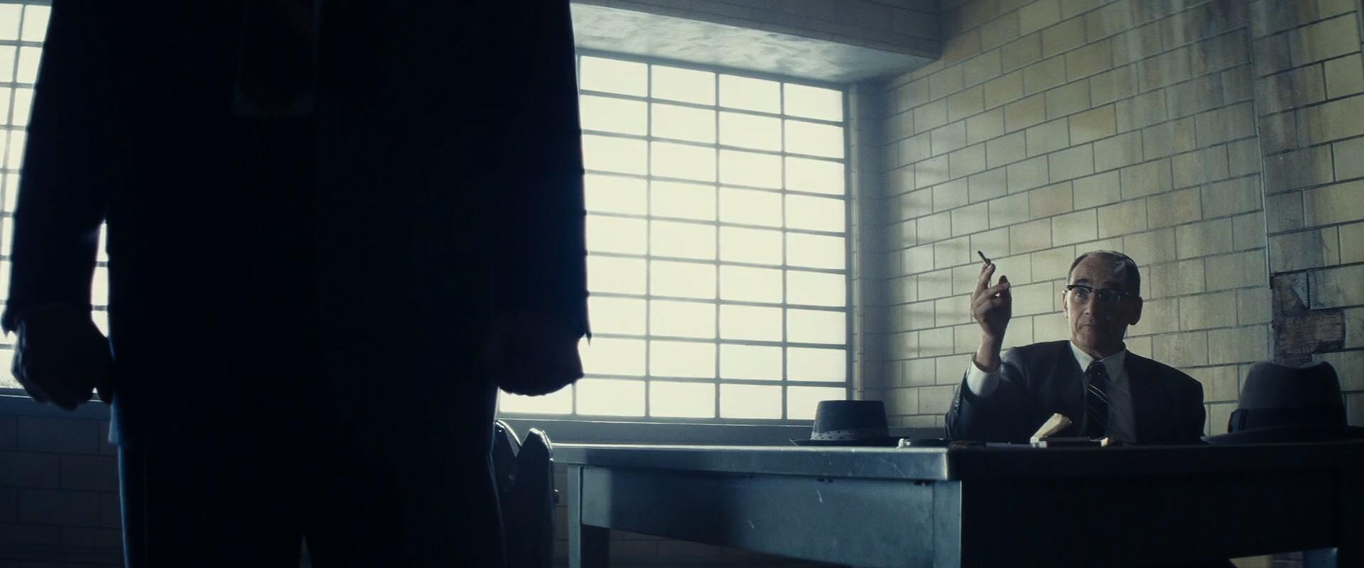 Tom Hanks and Mark Rylance in Bridge of Spies (2015)