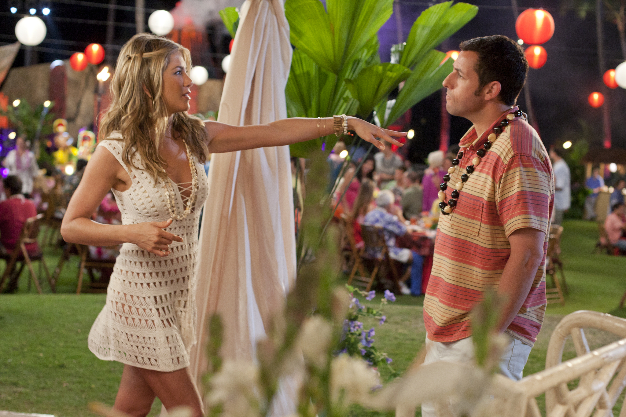Jennifer Aniston and Adam Sandler in Just Go with It (2011)