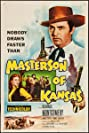 Masterson of Kansas (1954) Poster