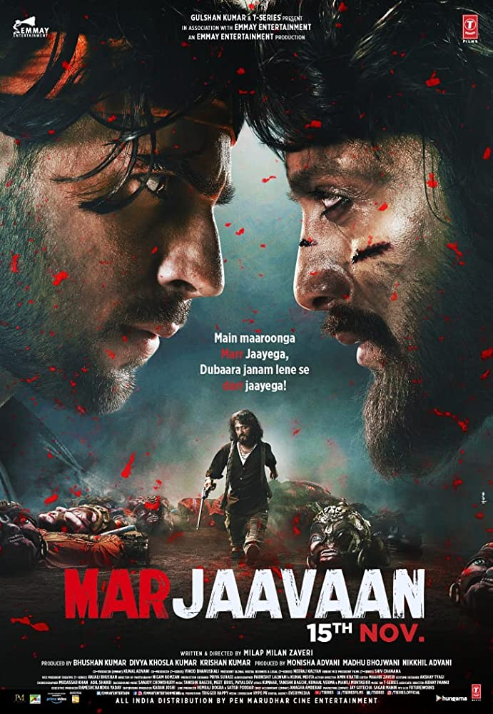Marjaavaan (2019) Hindi Movie 480p DVDScr x264 400MB
