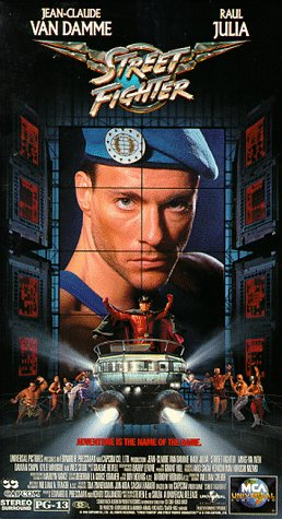 Image result for street fighter 1994 poster