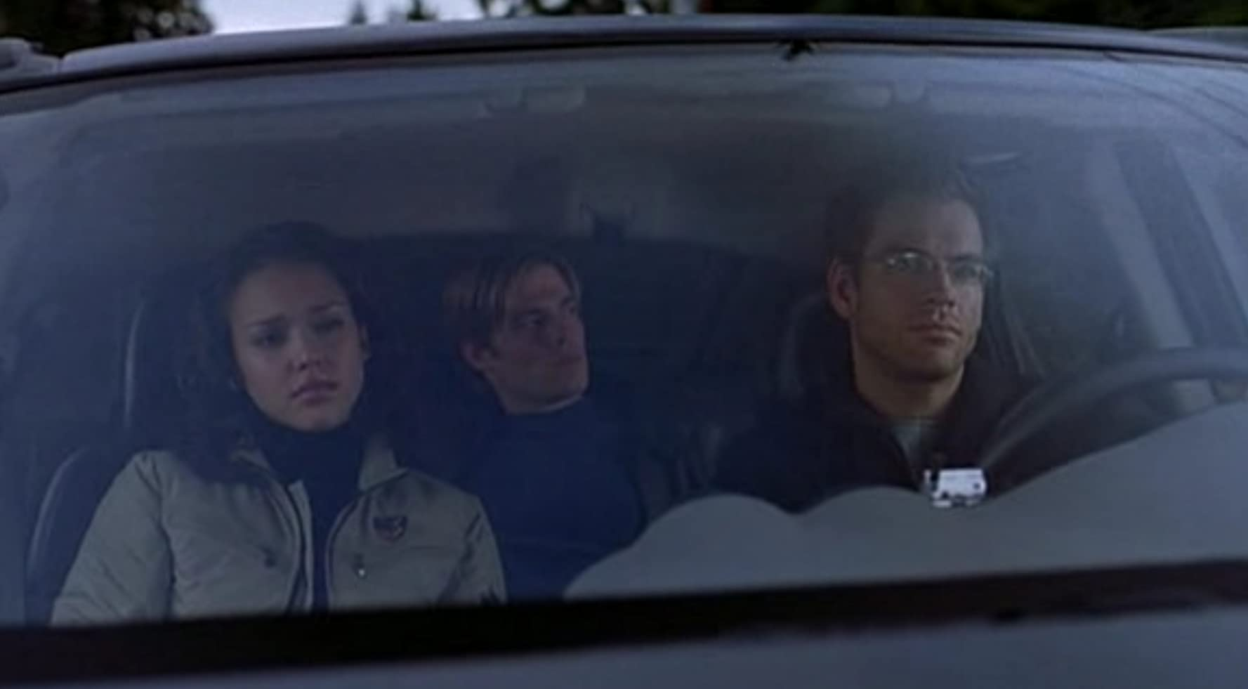Jessica Alba, William Gregory Lee, and Michael Weatherly in Dark Angel (2000)