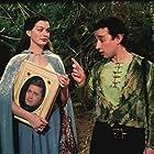 Anne Hathaway, Jimi Mistry, and Aidan McArdle in Ella Enchanted (2004)