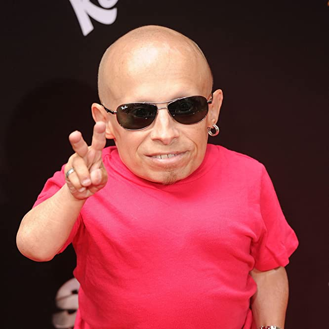Verne Troyer at an event for Spy Kids: All the Time in the World in 4D (2011)