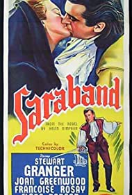 Stewart Granger and Joan Greenwood in Saraband for Dead Lovers (1948)