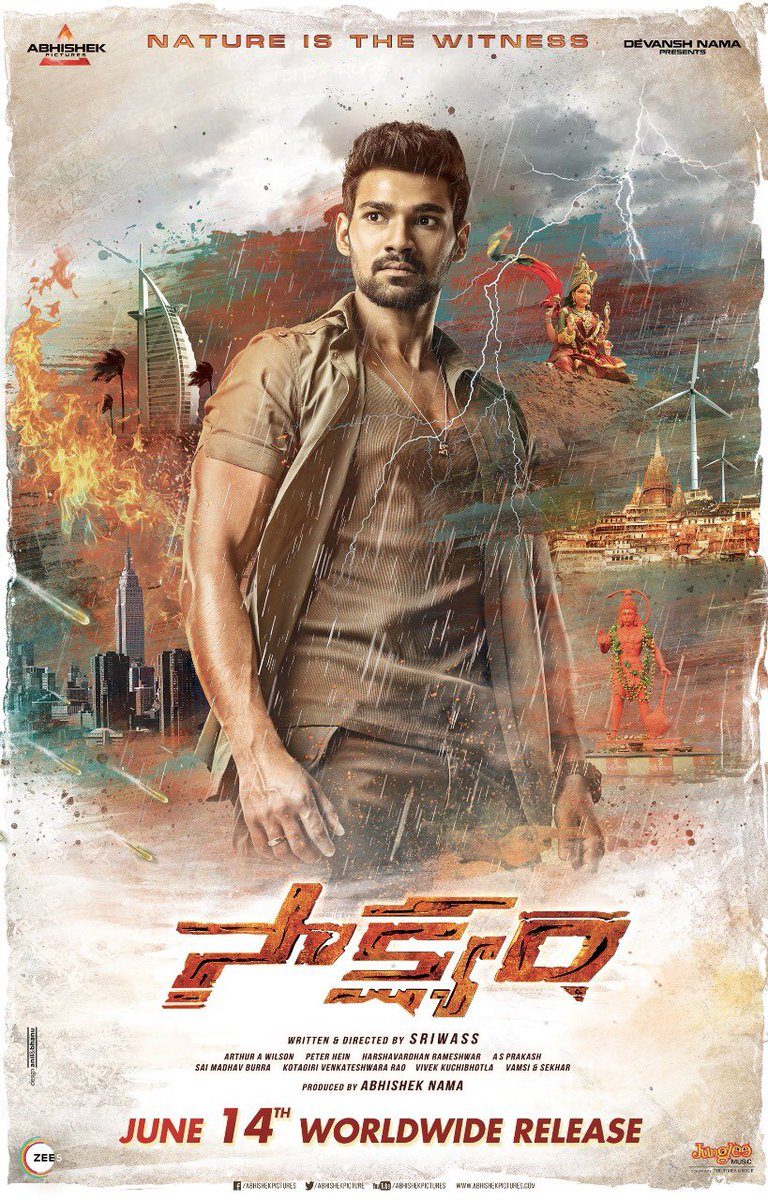 Pralay The Destroyer (Saakshyam) 2020 Hindi Dubbed 720p HDRip 800MB