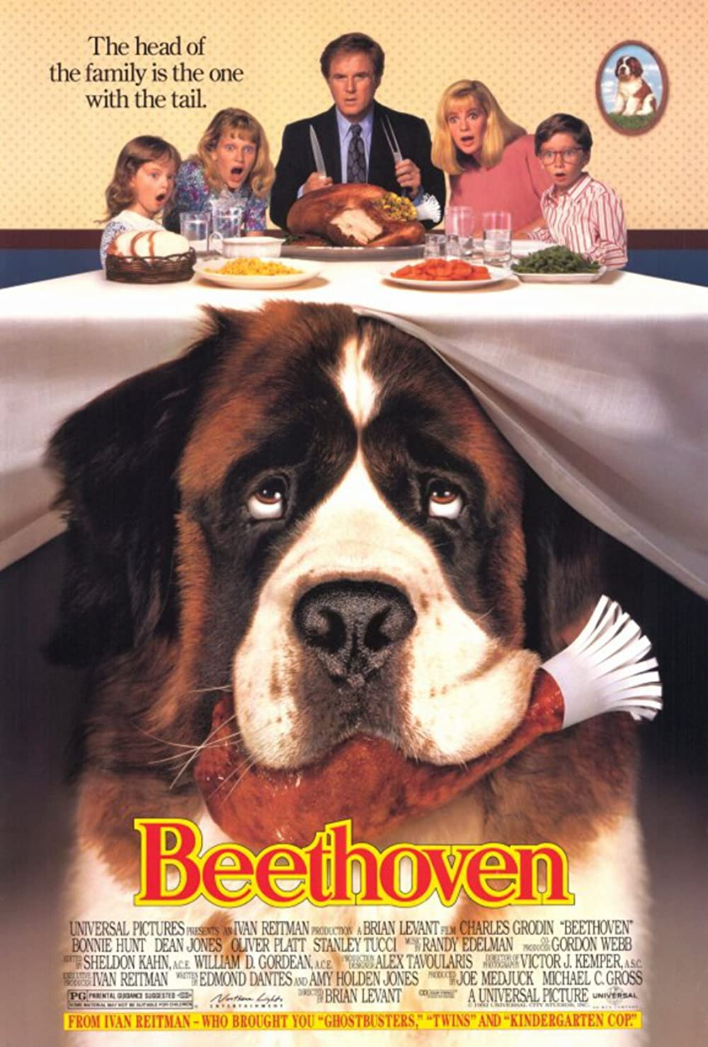 Beethoven 1992 Hindi Dual Audio 720p BluRay ESubs 605MB Download