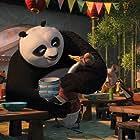 Jack Black and James Hong in Kung Fu Panda 2 (2011)