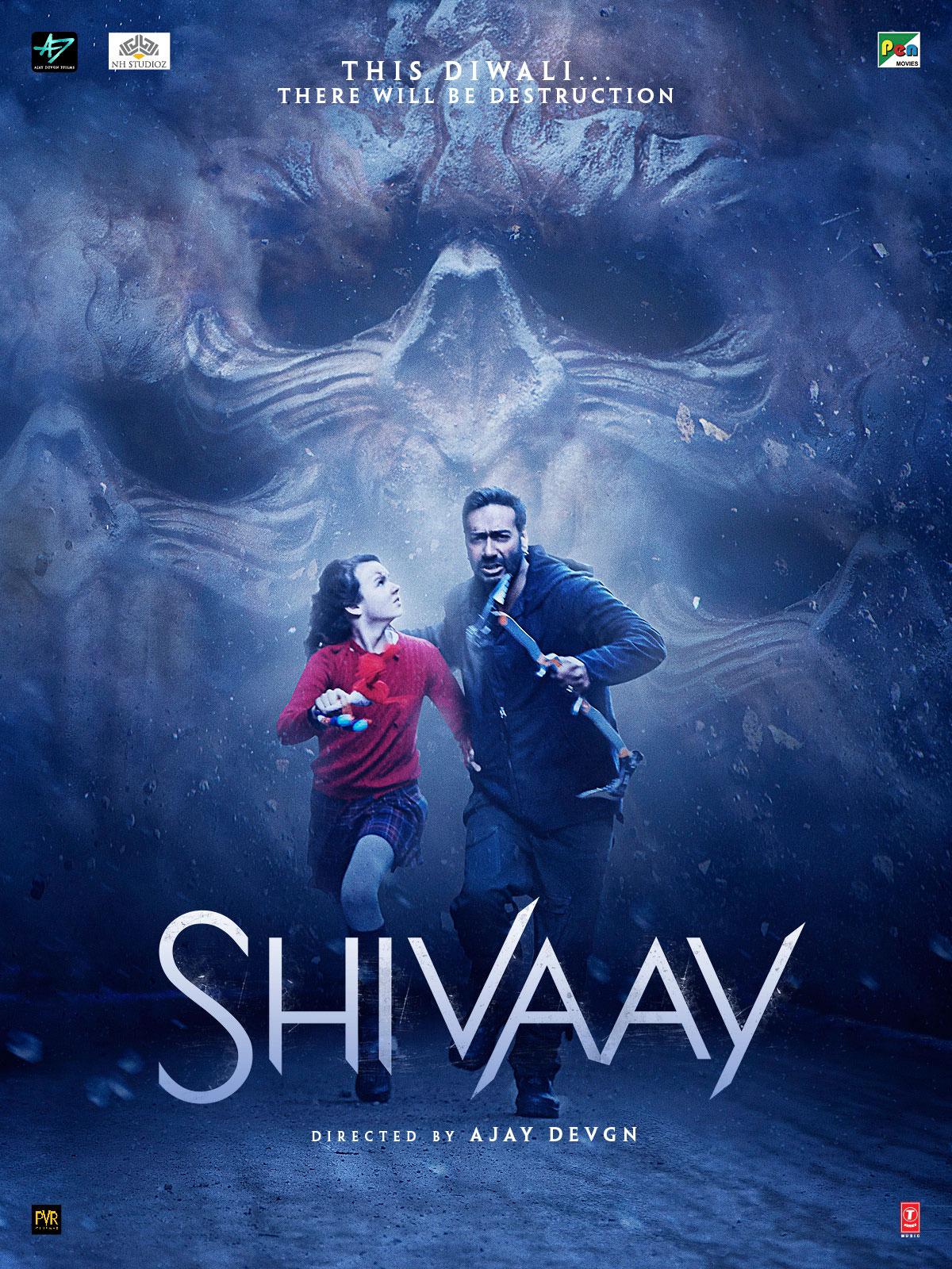 Shivaay (2016) Hindi Full Movie WEB-DL x264 400MB Download