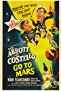 Anita Ekberg, Bud Abbott, Mari Blanchard, Lou Costello, and Jean Willes in Abbott and Costello Go to Mars (1953)
