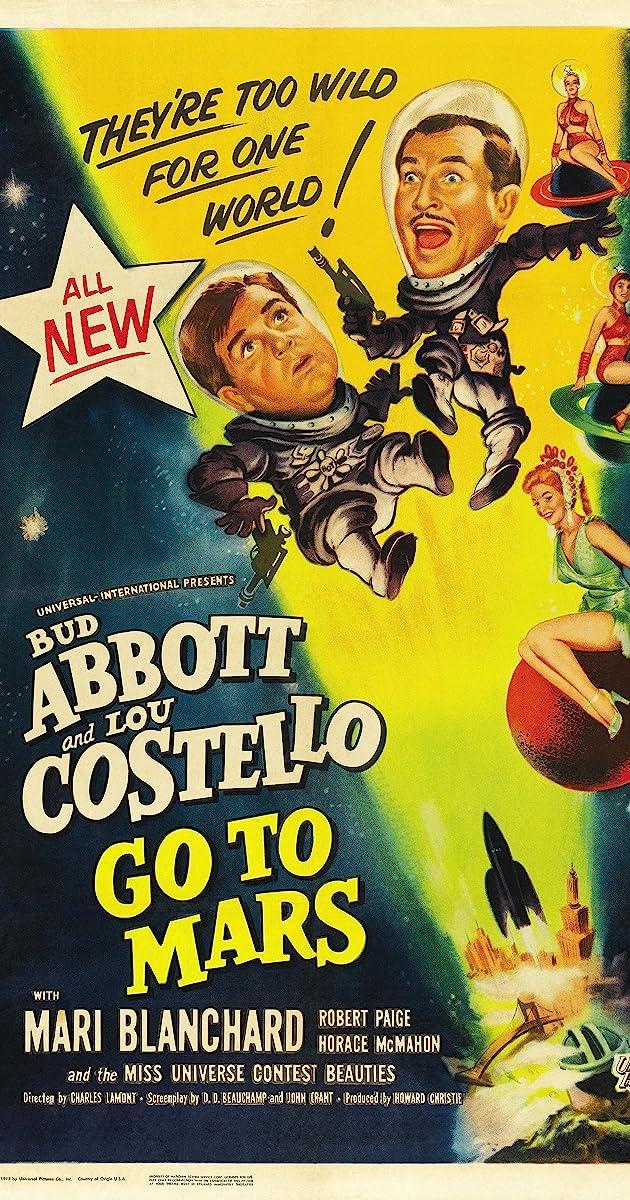Abbott And Costello Go To Mars 1953