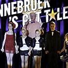 Arjan Ederveen, Rory Mijnen, Lars Henckens, and Pepijn Stoter in Bannebroek's Got Talent (2014)