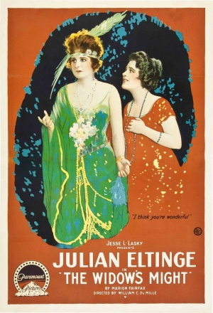 Mayme Kelso and Florence Vidor in The Widow's Might (1918)