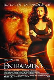 Sean Connery and Catherine Zeta-Jones in Entrapment (1999)