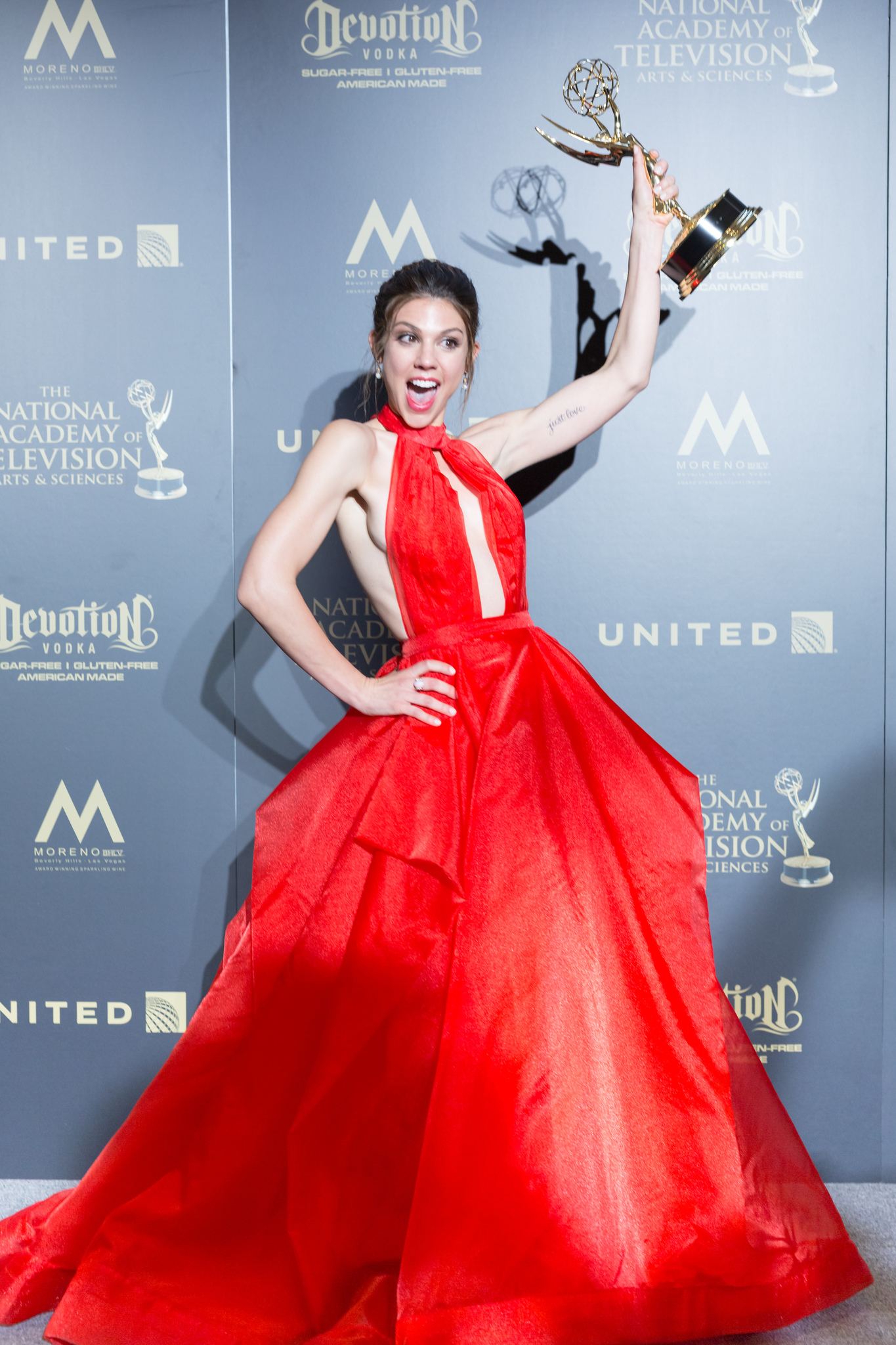 Kate Mansi at an event for The 44th Annual Daytime Emmy Awards (2017)