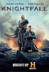 Mark Hamill and Tom Cullen in Knightfall (2017)
