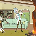 Spencer Grammer and Justin Roiland in Rick and Morty (2013)