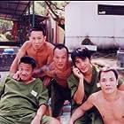 John Ching, Tony Chiu-Wai Leung, Frankie Chi-Hung Ng, and Man-Tat Ng in Hak yuk duen cheung goh: Chai sang jue yuk (1997)