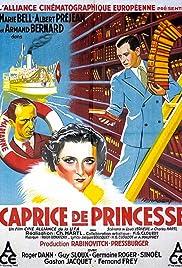 Caprice de princesse(1934) Poster - Movie Forum, Cast, Reviews