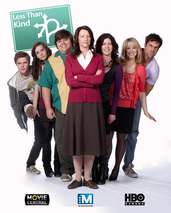 Nancy Sorel, Jesse Camacho, Brooke Palsson, Benjamin Arthur, and Lisa Durupt in Less Than Kind (2008)