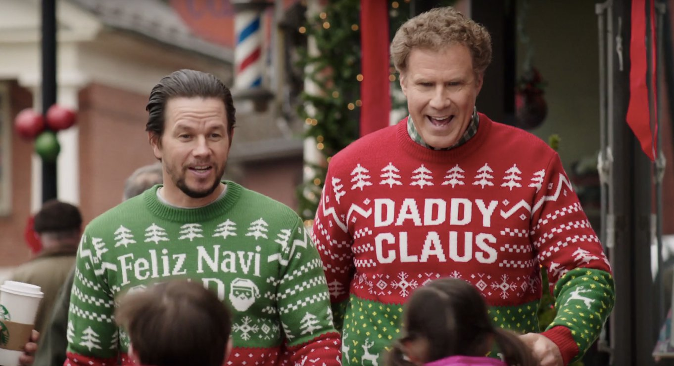 Mark Wahlberg and Will Ferrell in Daddy's Home 2 (2017)