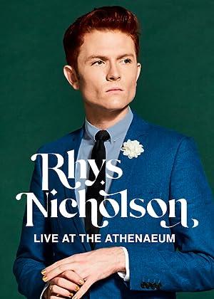 Where to stream Rhys Nicholson: Live at the Athenaeum