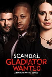 Scandal: Gladiator Wanted Poster