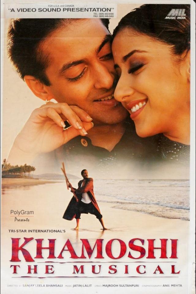 Khamoshi: The Musical 1996 Hindi 720p HDRip 1.2GB ESubs Download
