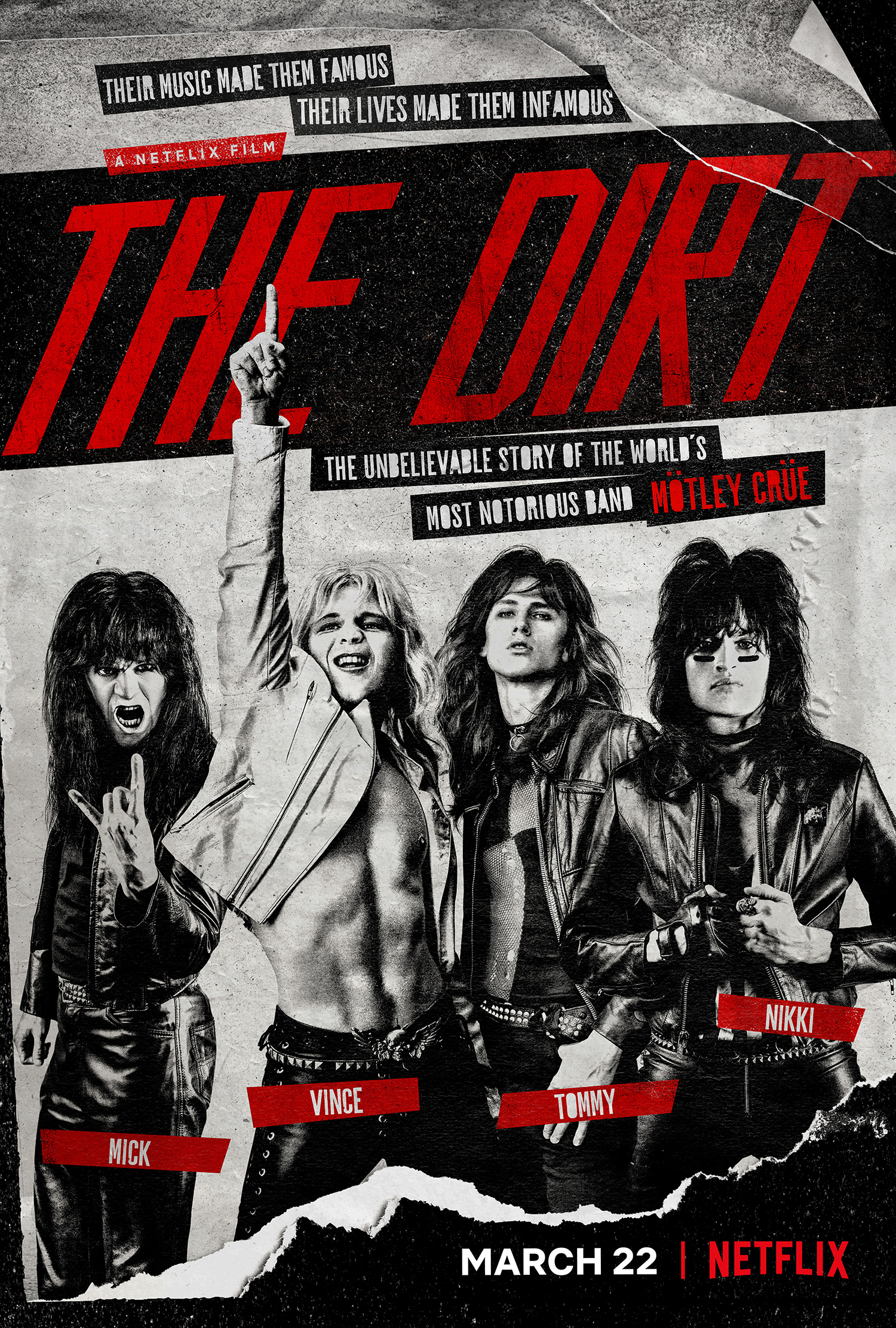 Image result for the dirt movie poster