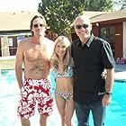"Kevin Sorbo, Sunny Doench, Patrick Barnitt on the set of ""Coffin"""