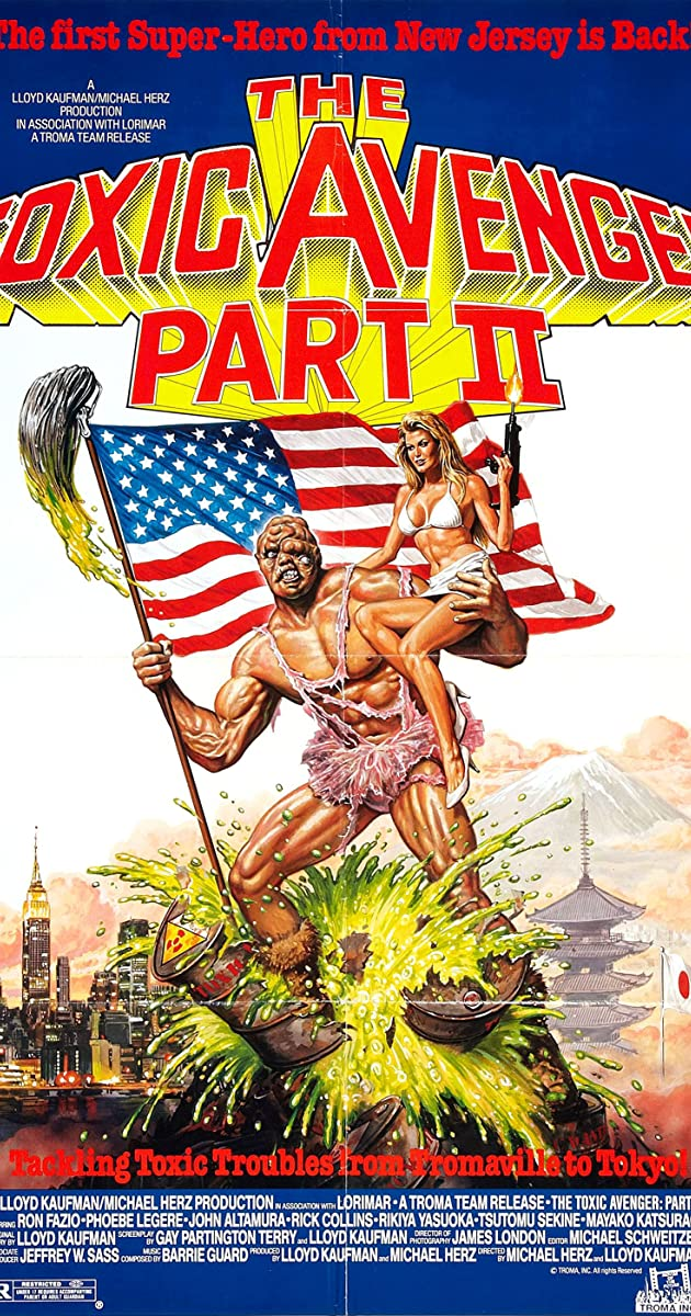 Subtitle of The Toxic Avenger Part II