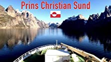 Panorama view of Prins Christian Sund in Greenland (2018)